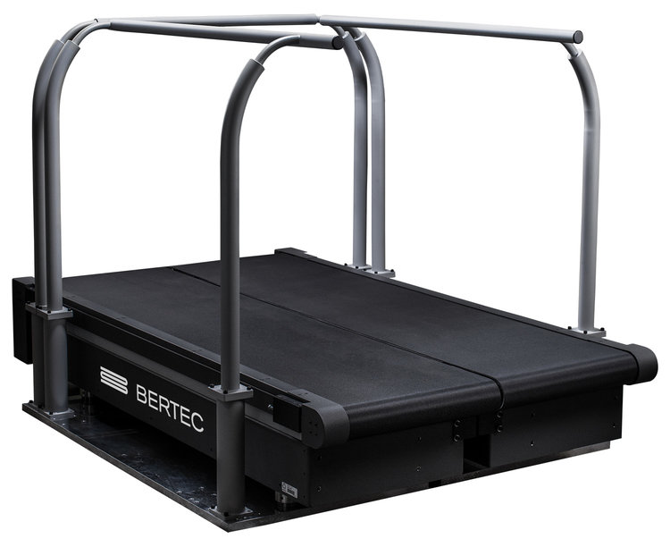 instrumented treadmill angulerview